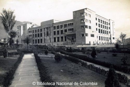 La BNC à son inauguration en 1938.