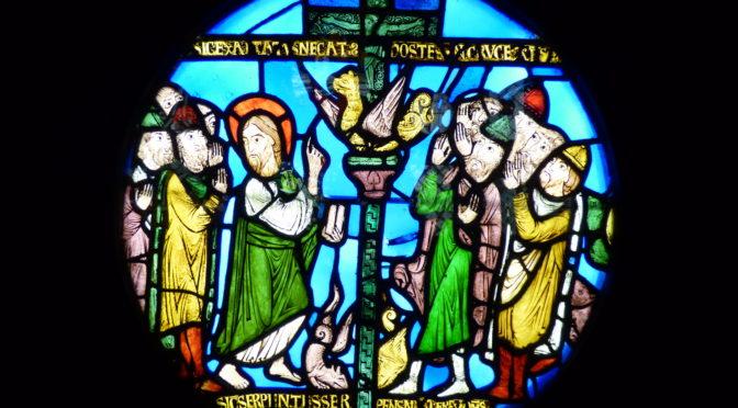 Le verre. Un Moyen Âge inventif !