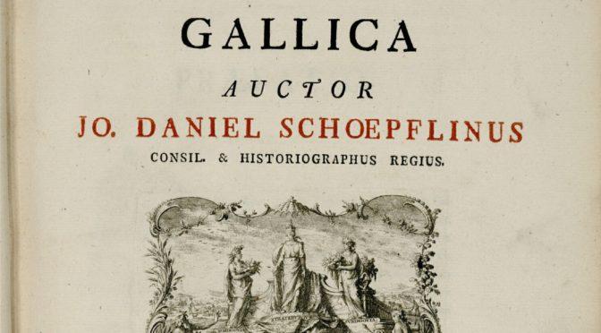 La représentation des divertissements dans les gravures alsaciennes du XVIIIe siècle de l'Alsatia illustrata de Jean-Daniel Schoepflin