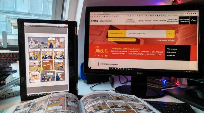 La bibliothèque numérique de Paris, une alliée pendant la pandémie
